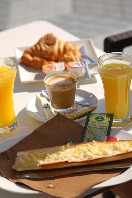 Malaga śniadanie