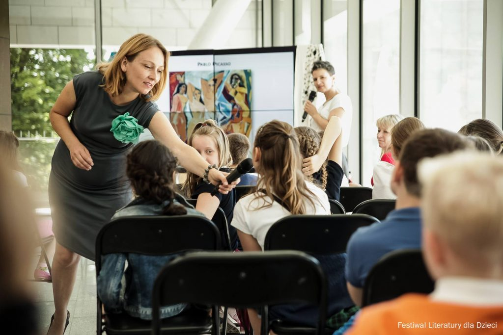 Moja książka Ole!Hiszpania dla dociekliwych podczas Festiwalu Literatury dla Dzieci w Krakowie